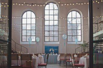 Impression of blue&mint, czyli dekoracja wesela z balonami w Impresji w Zabrzu