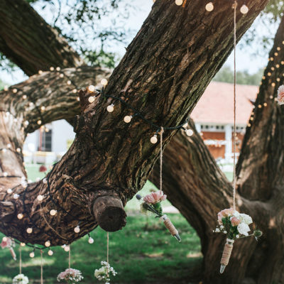 Sielskie wesele i rustykalne dekoracje