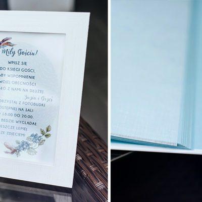 księga gości do wklejania zdjęć