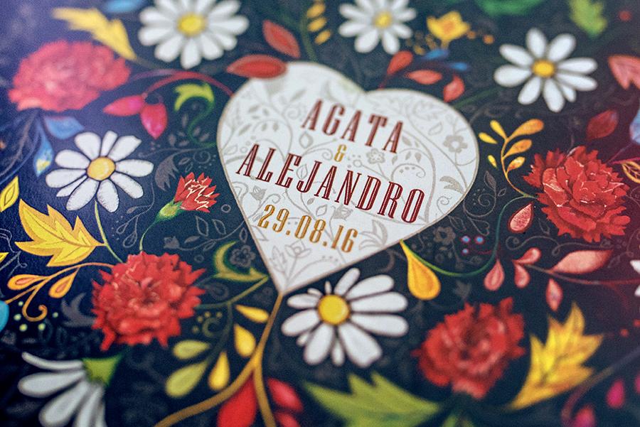 detal zaproszenia hiszpańskiego