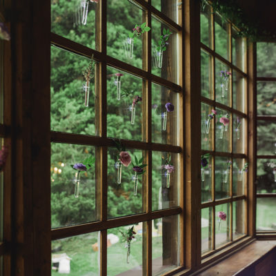 dekoracja okna w Willi Tadeusz