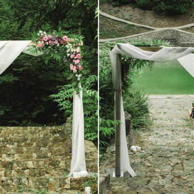 brama ślubna w Willi Tadeusz