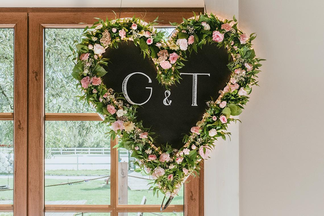 Motyw tablicy w postaci serca