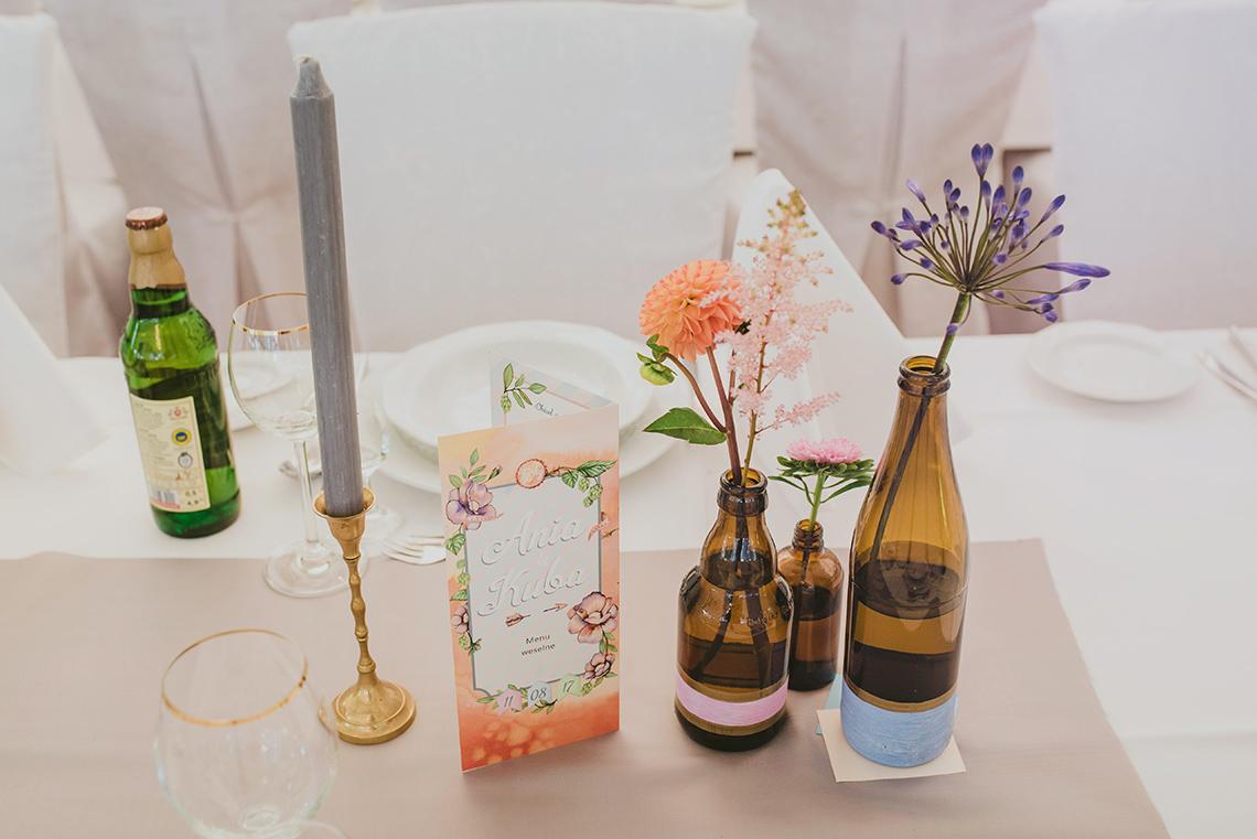 dekoracje na weselu plenerowym