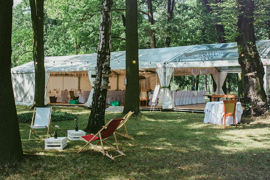 wesele plenerowe w namiocie