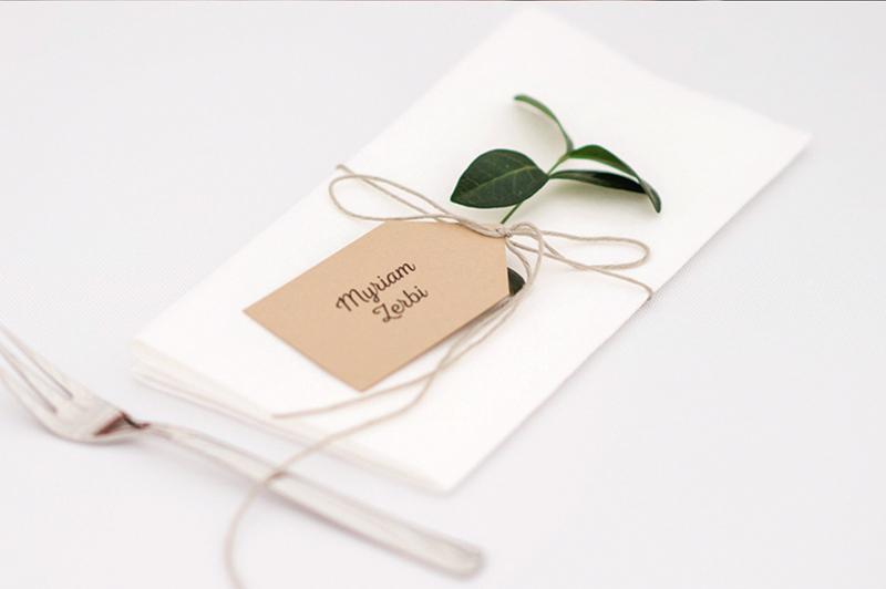 dodatki ślubne - winietka-etykietka