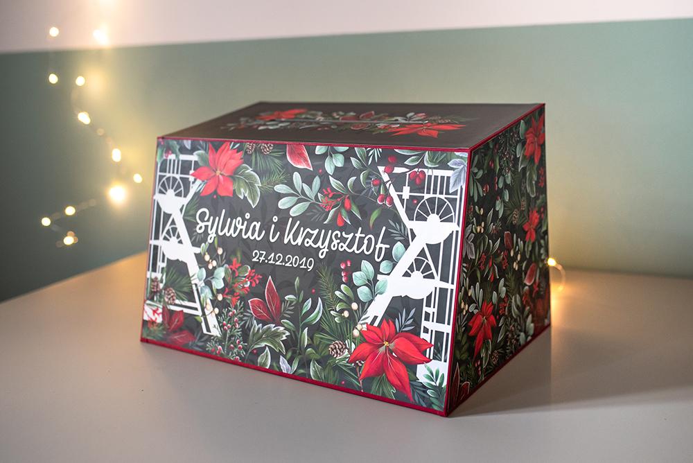 front śląskiego pudełka na koperty