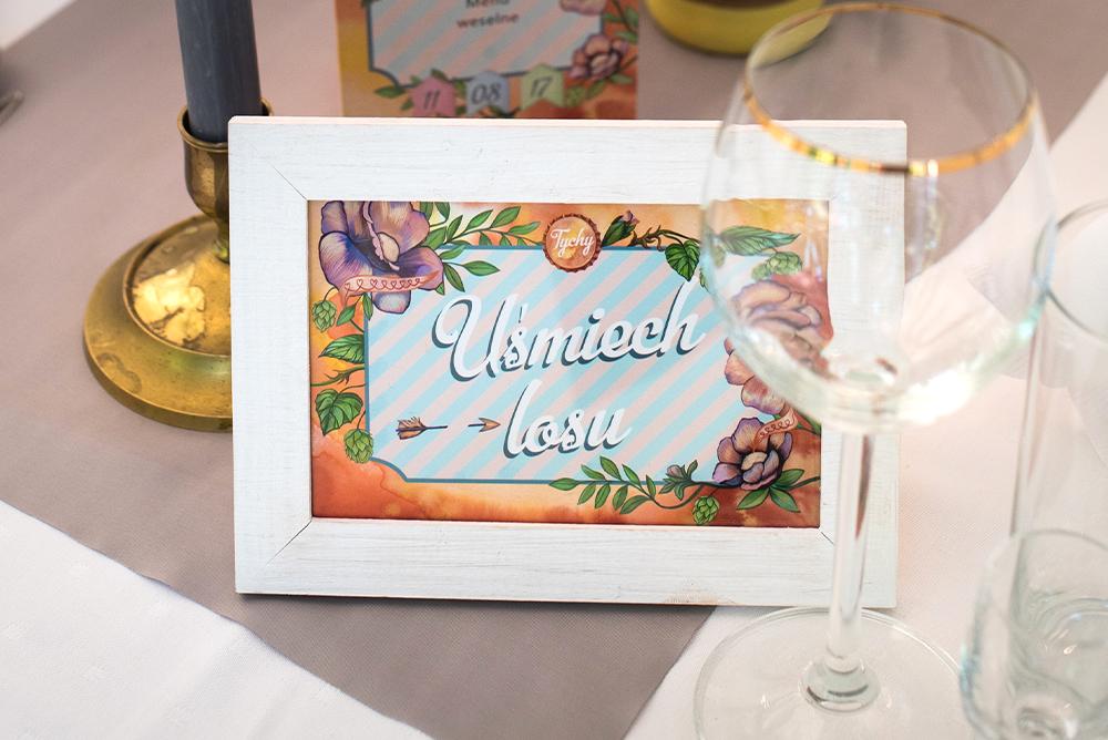 Nazwa stołu weselnego